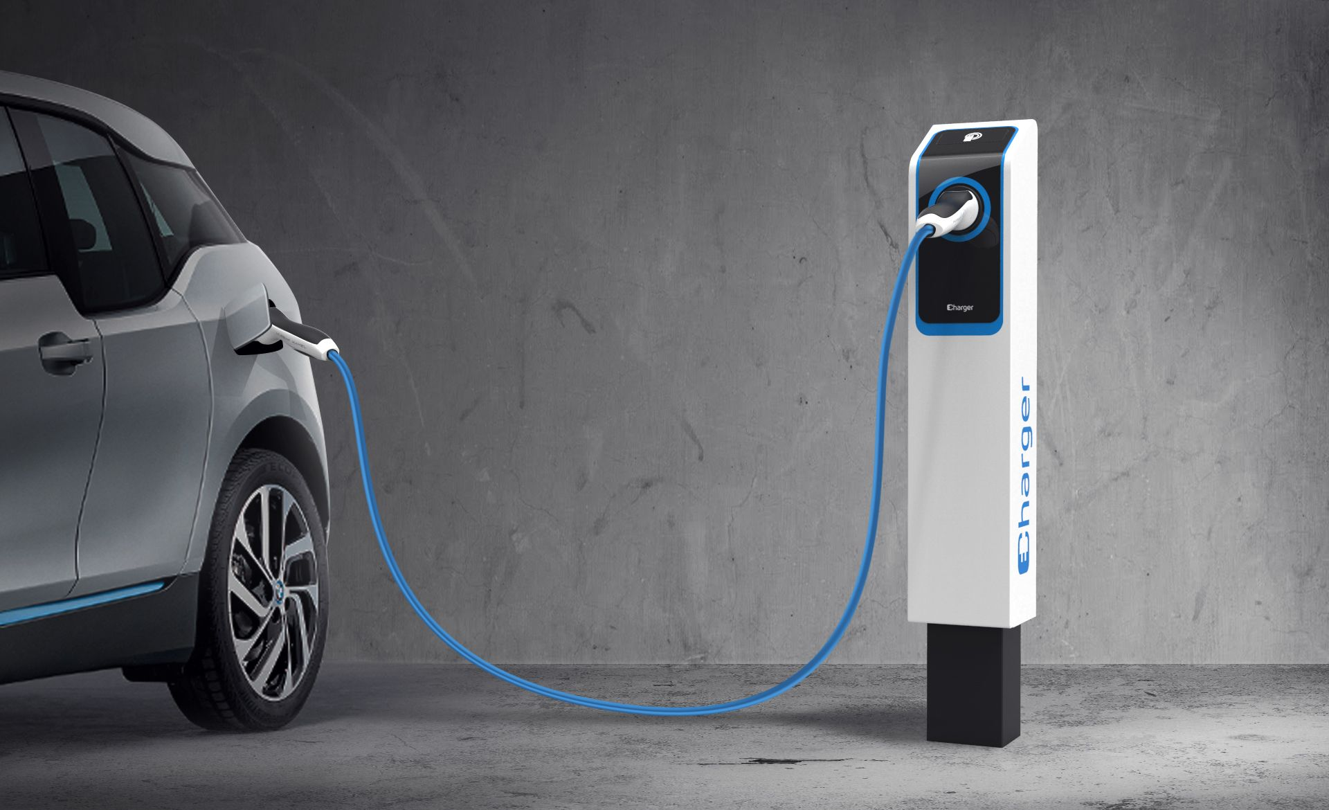 Echarger On Behance Electric Car Charger