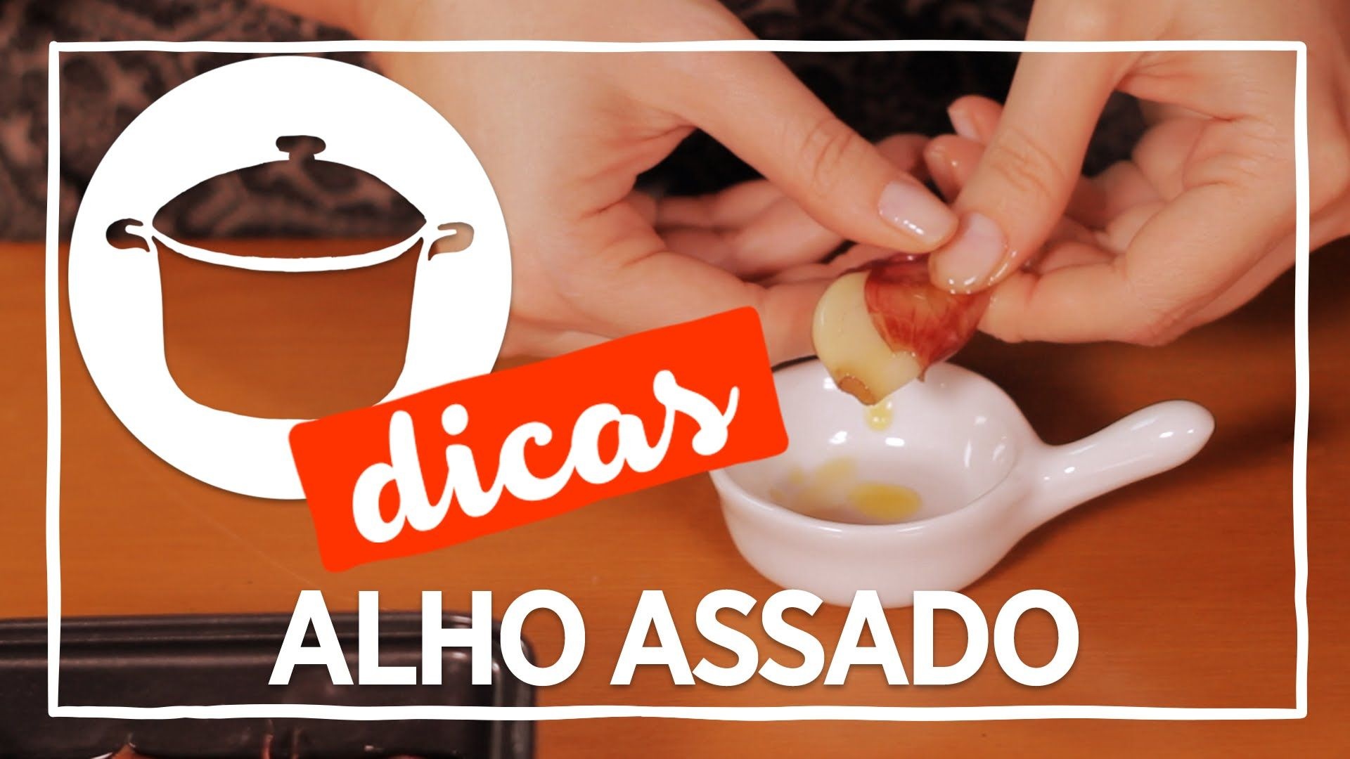Dica de como assar alho - YouTube