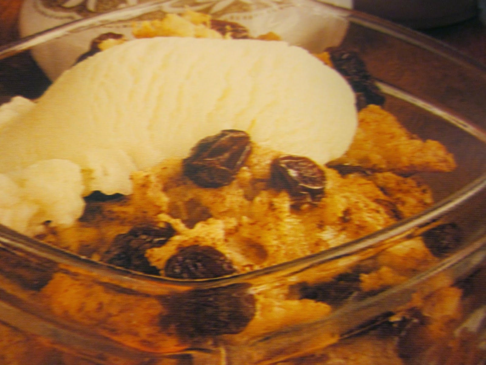 Grandma's Vintage Recipes: BREAD PUDDING FOR TWO