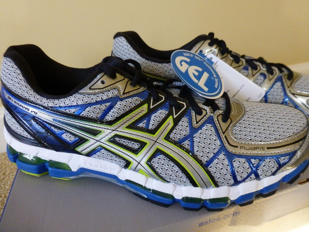 MEN'S ASICS GEL-KAYANO 20 LIGHTNING/SILVER/ROYAL NIB #ASICS