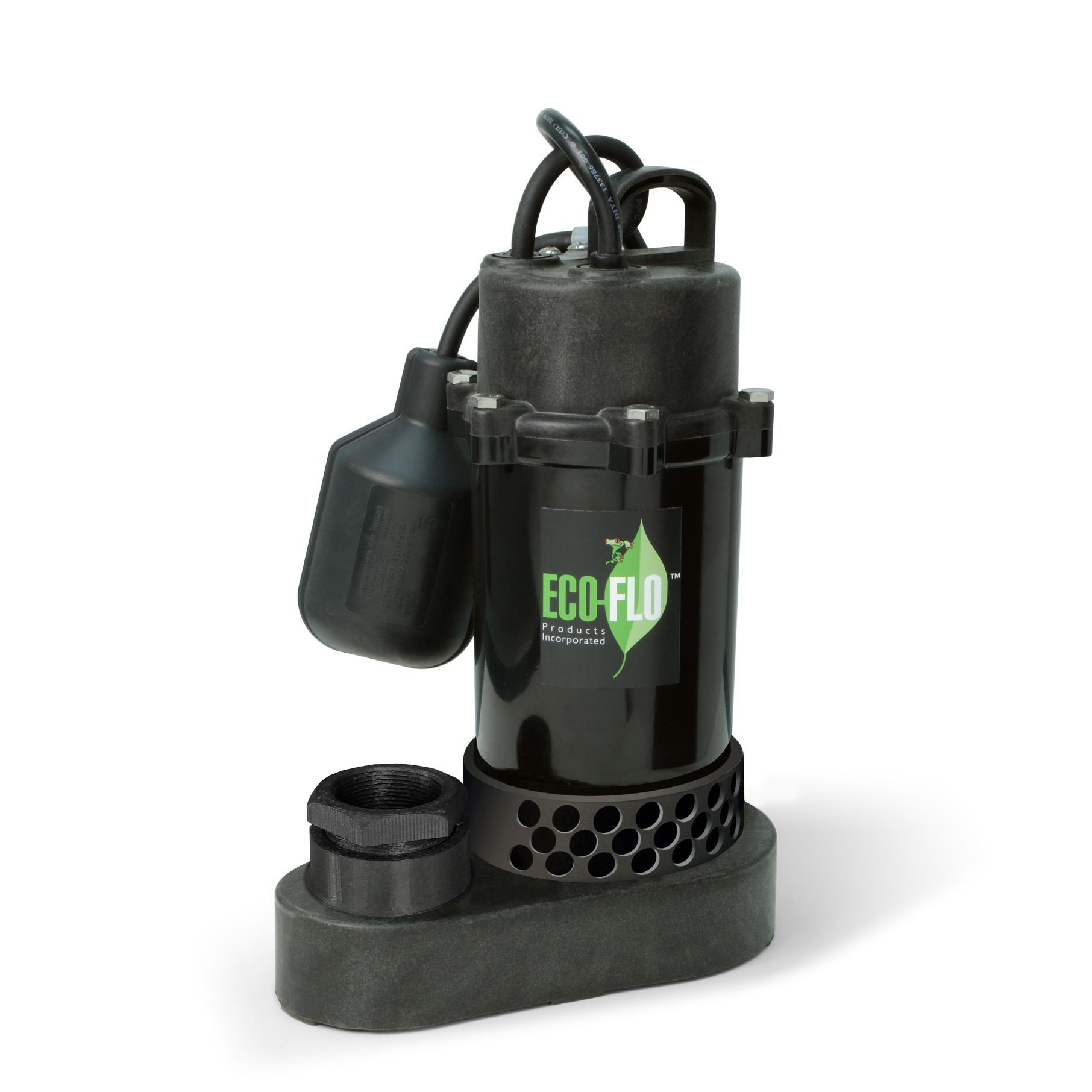 ECO-FLO SPP25W Thermo 1/4 HP Sump Pump with Wide Angle Switch