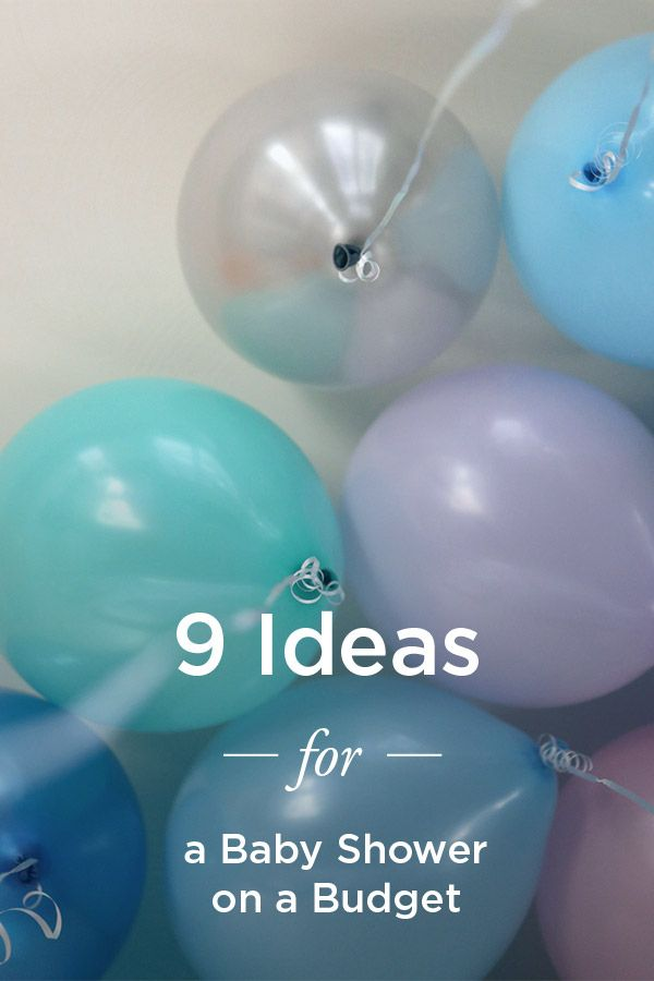Cheap Baby Shower Ideas On A Budget Budget Baby Shower Chic Baby