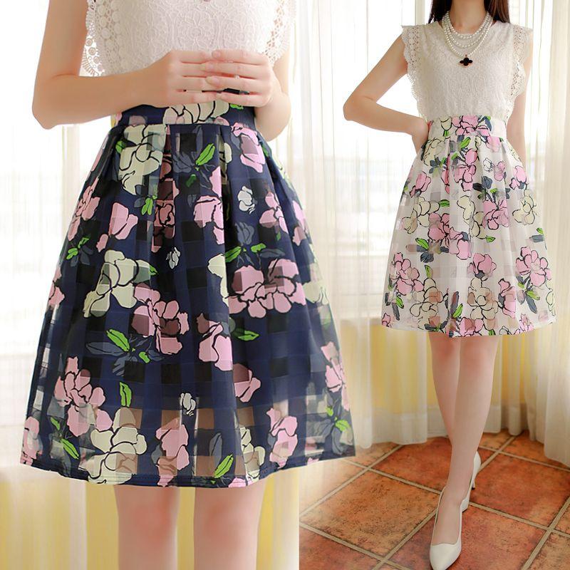 Diferentes modelos de faldas floreadas 5  11db0cb3f8bd