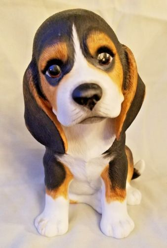 Lenox Beagle Puppy Figurine 1990 Porcelain 6 5 034 Real Looking