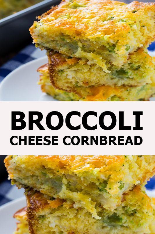 BROCCOLI CHEESE CORNBREAD BROCCOLI CHEESE CORNBREAD