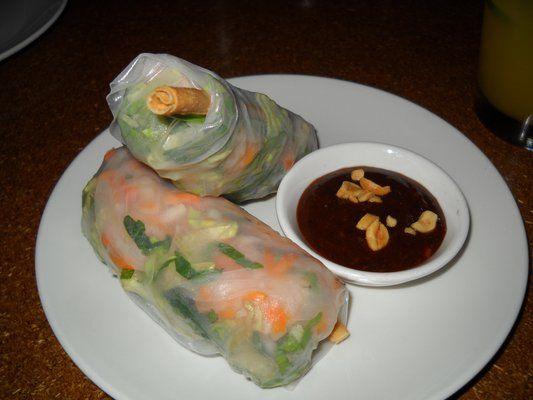 Summer Rolls : shrimp, lettuce, hoisin | Yelp