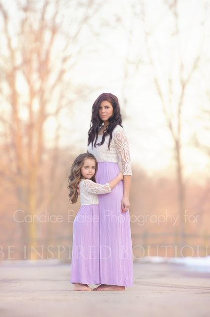 144a36100 Matching purple maxi dresses for mother and daughter! Mommy and me  Whimsical Dreams Maxi Dress #inspiredbyyou