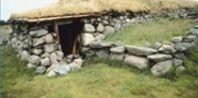 Building a sod house model