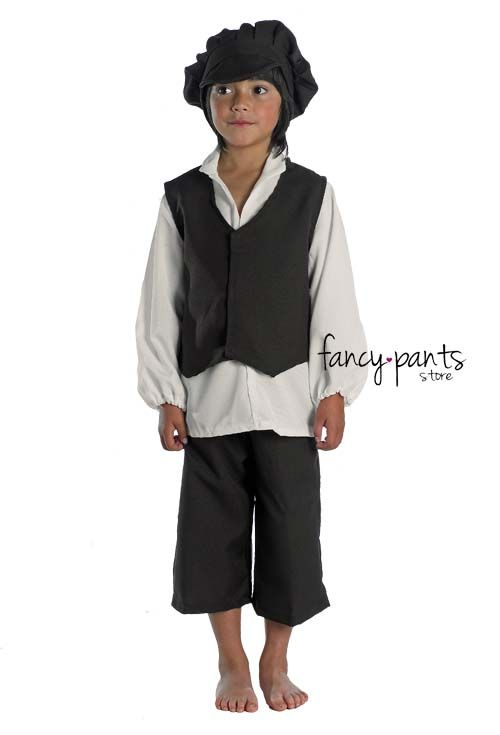 this victorian peasant costume is a great option for world book  characters in oliver boys kids victorian gent fancy dress peasant costume