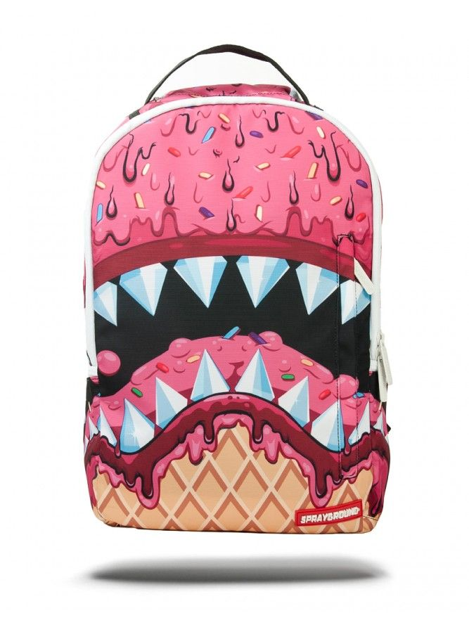 a9b9b404ad ICE CREAM SHARK DLX Cream Backpacks