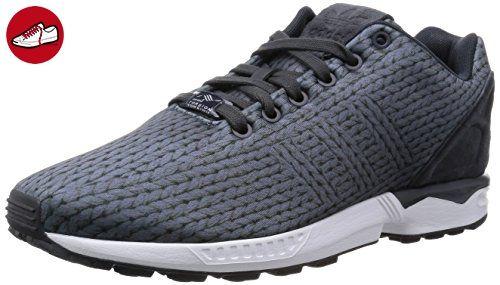 best service 91242 7436b adidas Originals ZX Flux B34485, Herren Low-Top Sneaker, Grau (Ftwr White