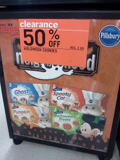 image about Meijer Printable Coupons named Meijer: 50% Pillsbury Halloween Cookies + Clean Printable