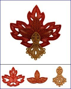Maple Leaf (Layered Lace)