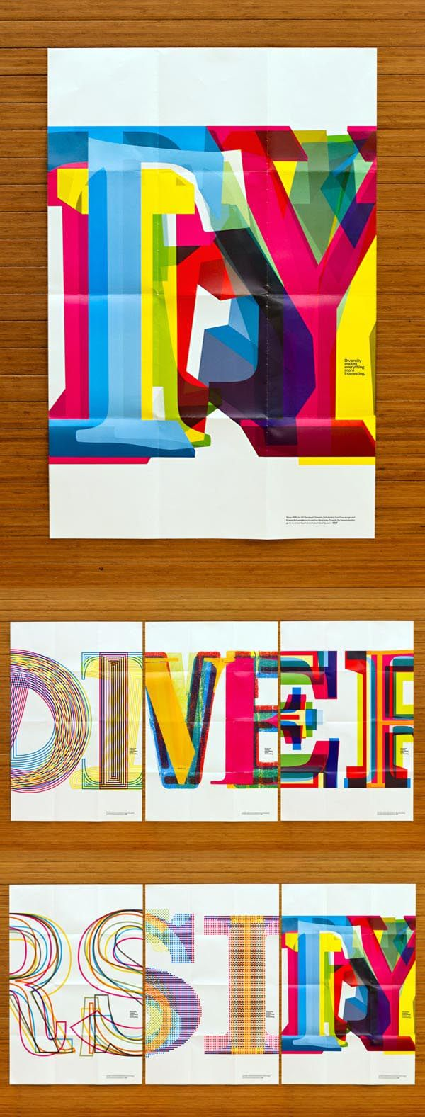 Bill Bernbach Diversity Scholarship - Typographic Poster ...