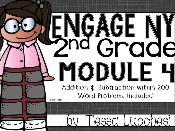 Eureka Math Centers~2nd Grade (Module 4) | math stuff | Eureka math
