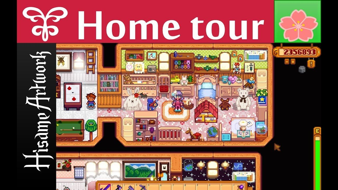 Stardew Valley House Tour Spring Top 10 Mods More Rooms Custom