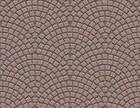 Textures Texture seamless | Porfido street paving cobblestone texture seamless 07347 | Textures - ARCHITECTURE - ROADS - Paving streets - Cobblestone | Sketchuptexture