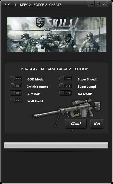 Скачать hack skill special force 2 чит с aim bot бесплатно.