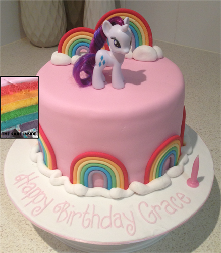 Amanda S Cakes And Invitations Birthday Cakes My Little Pony Pink