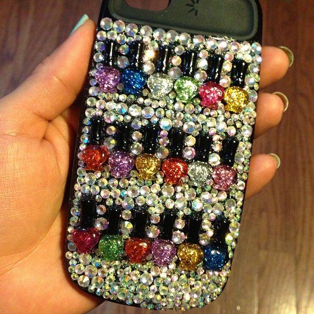 De ideale i-phone hoes voor de nagelstyliste