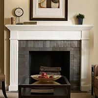 Fireplace Mantel Kits Fireplace Mantels The Home Depot Home