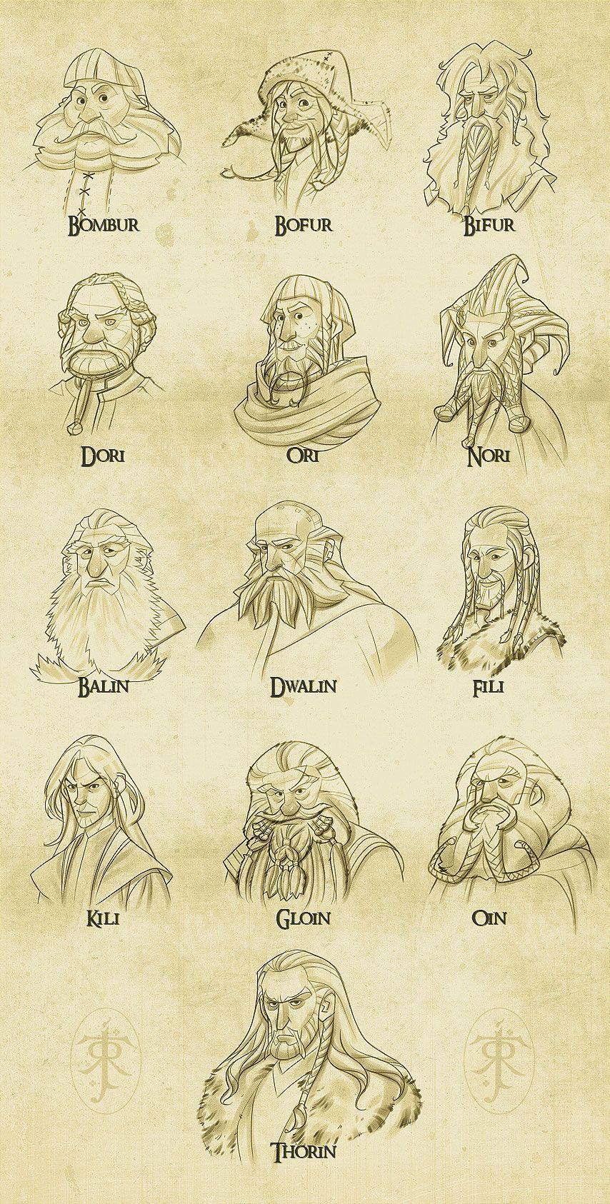 Awesome The Hobbit Fan Art Abduzeedo Design Inspiration In