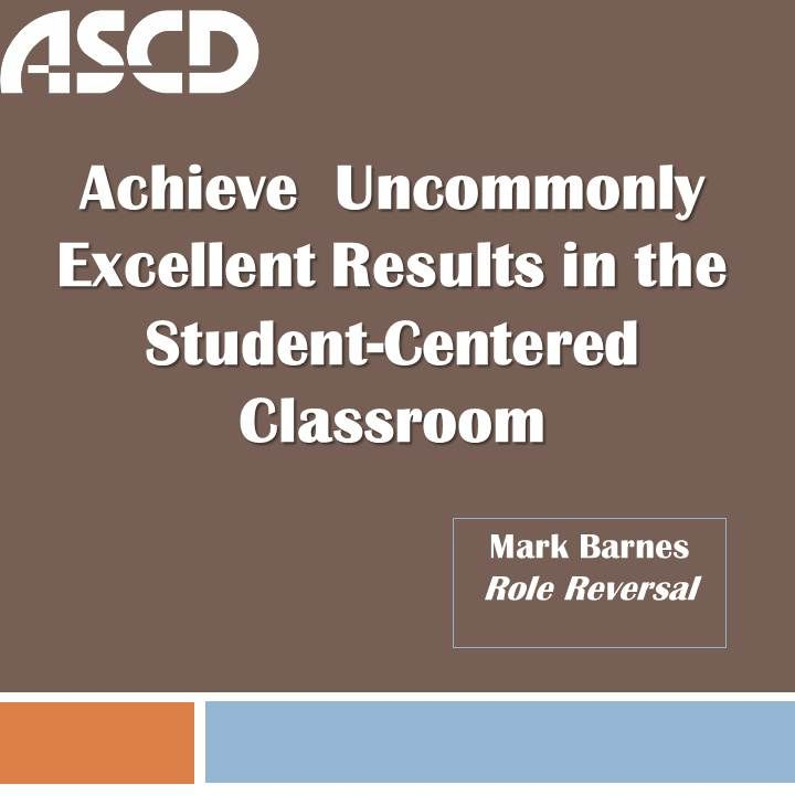 Learn How Your Students Can Take Charge Of Their Own Achievement In