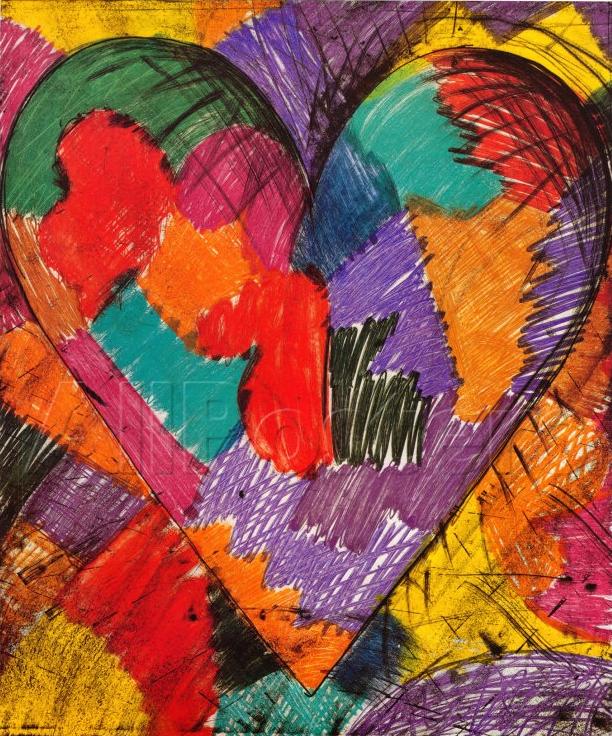 JIM DINE   art i like   Pinterest   Jim dine, Heart and Jim o'rourke