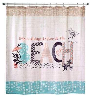 Avanti Life at the Beach Shower Curtain #promotion   Home - Beachy ...