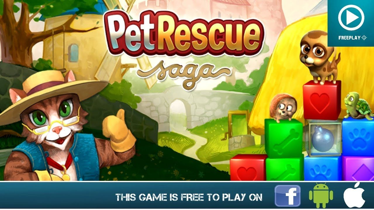 Pet Rescue Saga - Free on iOS, Android & Facebook | Free Android