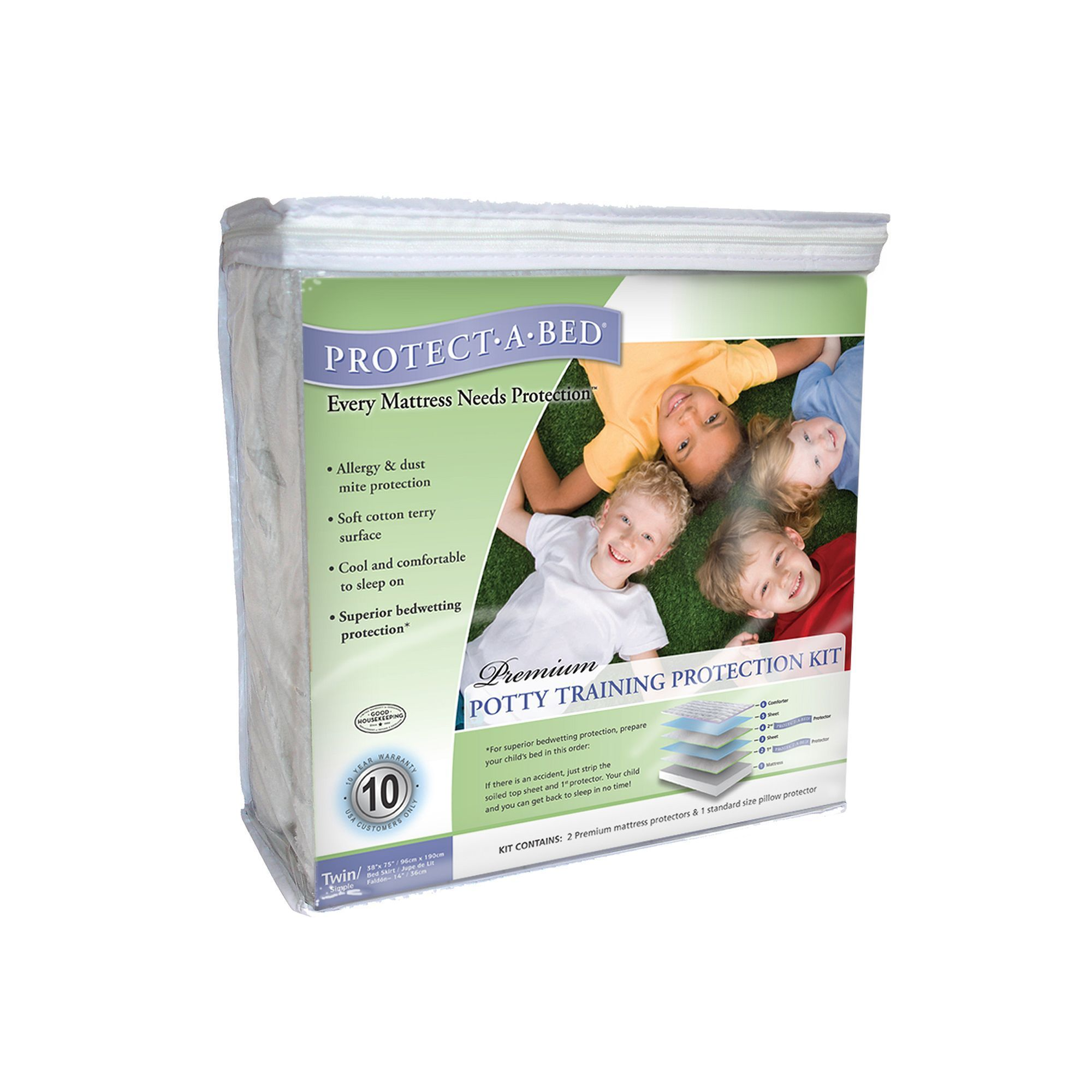 Protect A Bed Potty Training Protection Kit Twin Potty