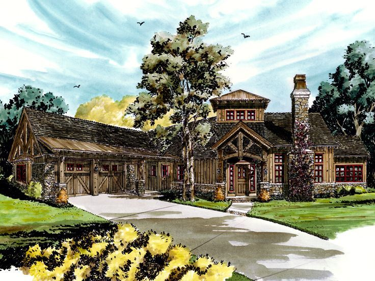 Mountain House Plan, 066H-0013