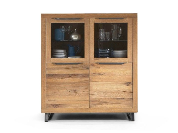 Bodahl Manhattan Highboard Eiche massiv 120cm