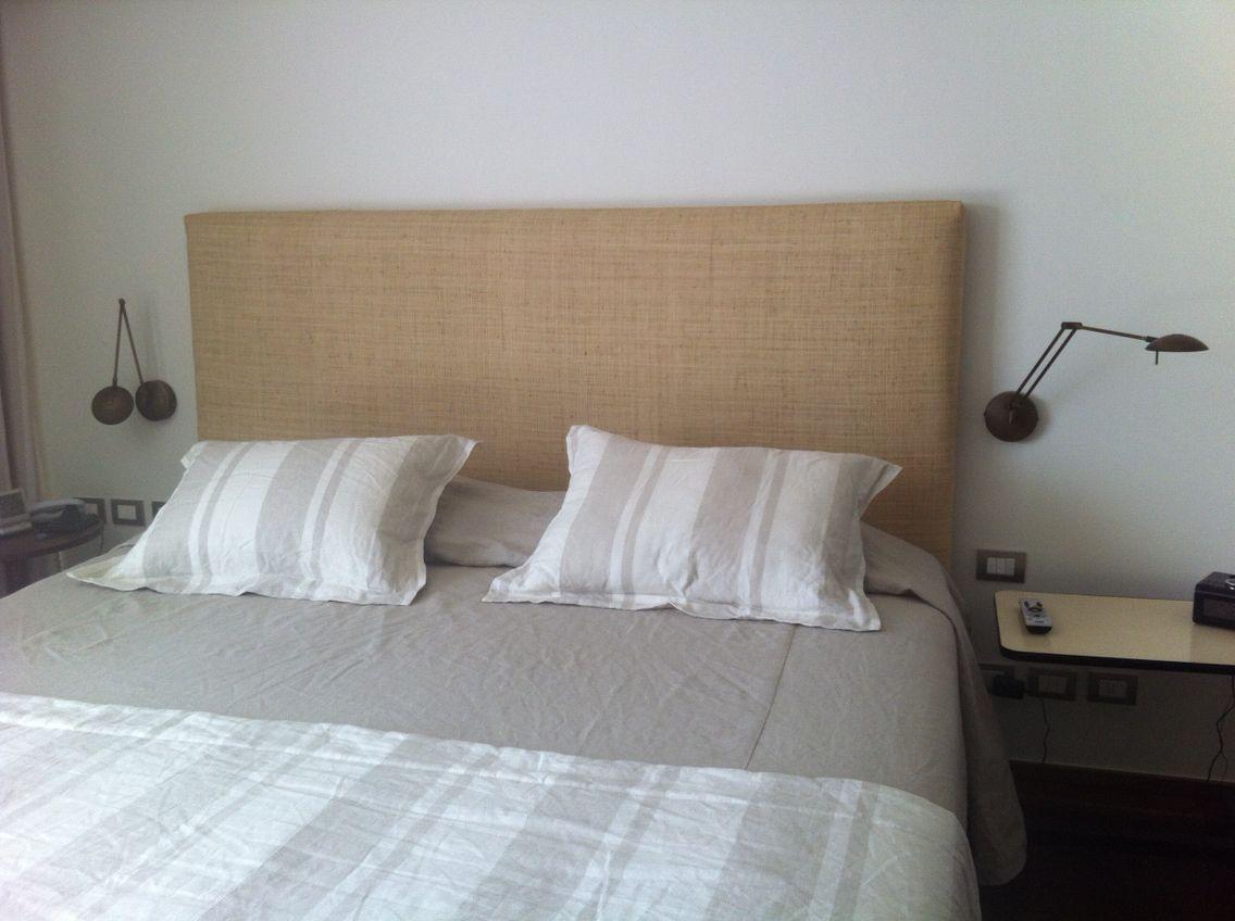 Respaldo Tapizado En Raffia Dormitorios Camas Tapizadas Cabeceras De Cama