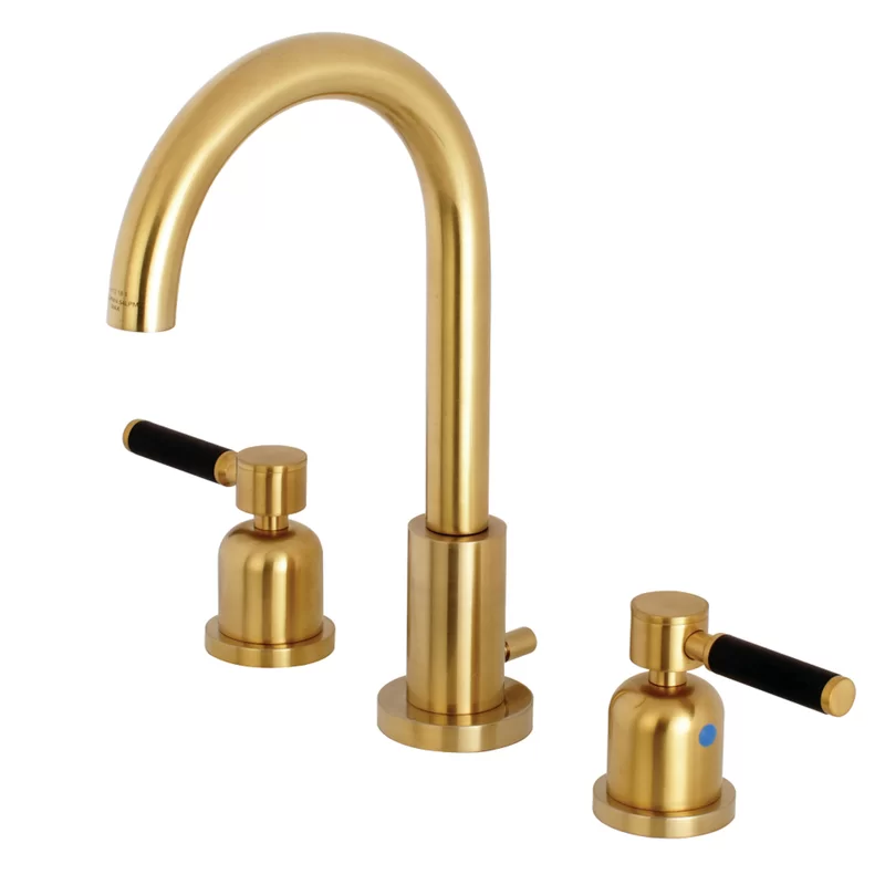 Photo of Kaiser Fauceture Widespread Bathroom Faucet