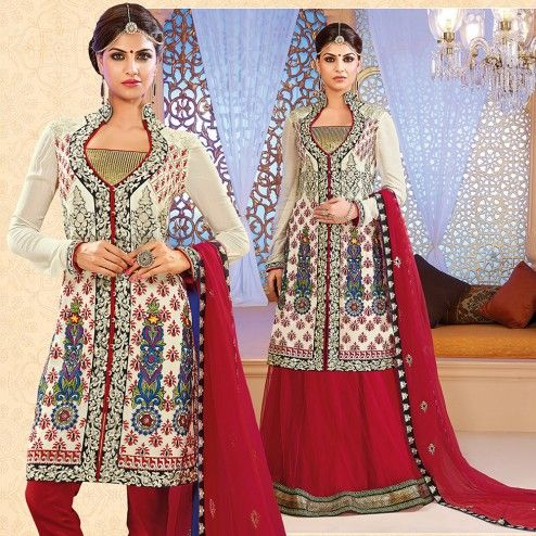 e1c163f331 New Indian Jacket Style Dresses Anarkali Suits 2016-2017 Collection |  StylesGap.com