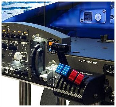 VRX Flight Simulator – the nearest thing to a cockpit in