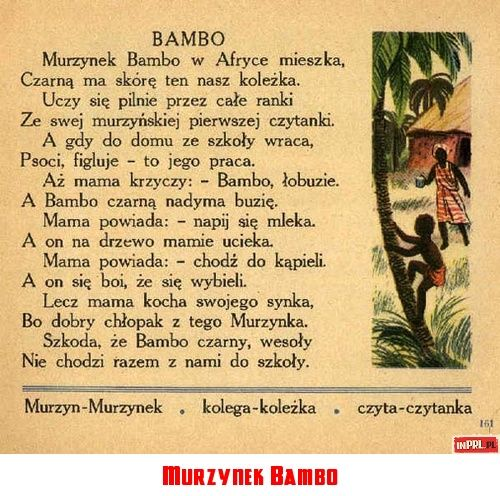 Murzynek Bambo Childhood Memories Poland Country Poland