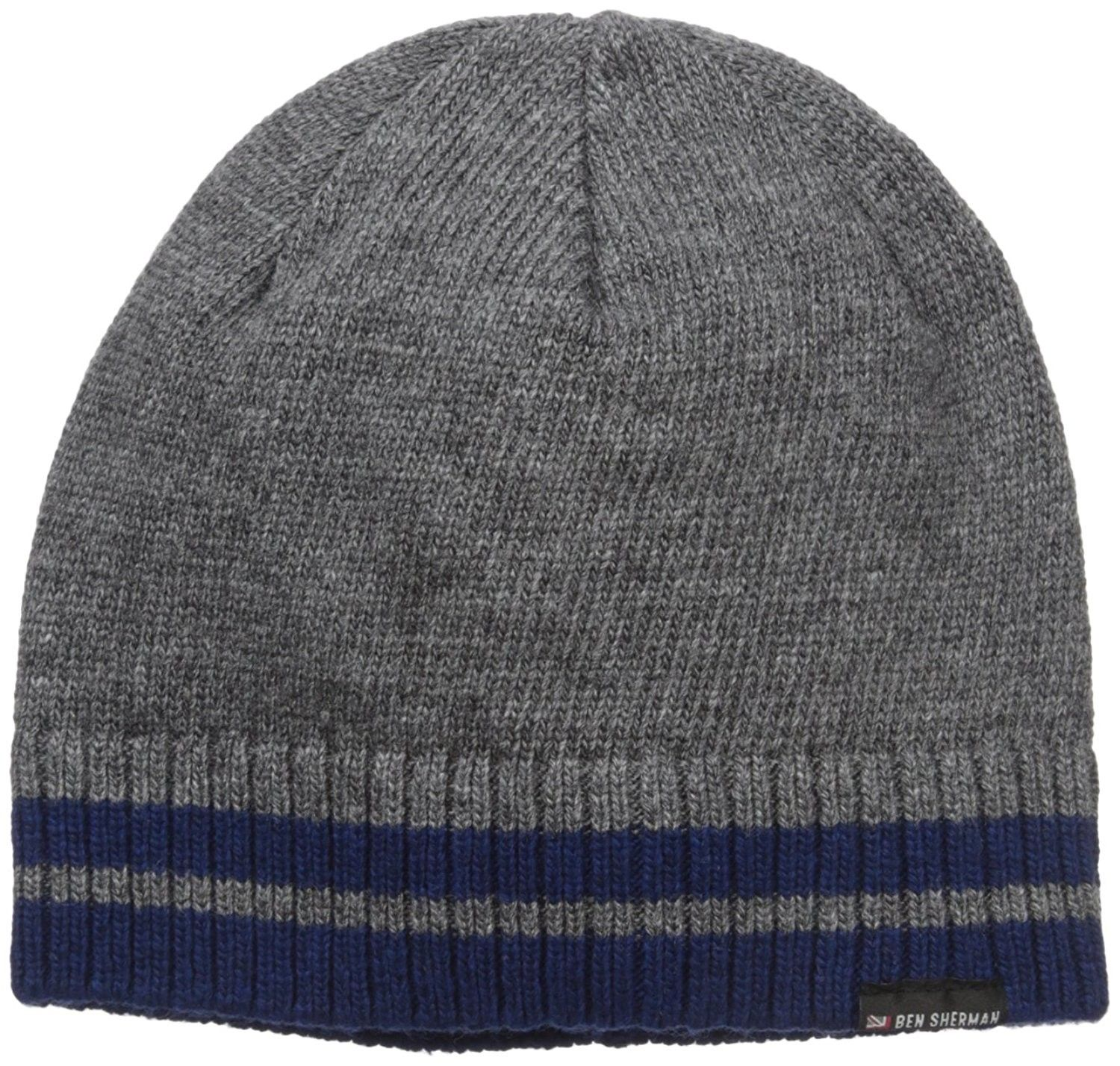 Men s Placed Tiping Knit Beanie - Smoked Pearl - CA12JLW4Y5V - Hats   Caps c3d18289f5b2