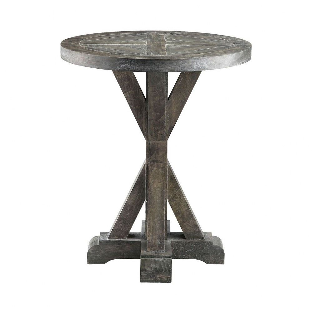 Bridgeport 26 Round End Table Grey Finish End Tables Stein World Side Table [ 1000 x 1000 Pixel ]