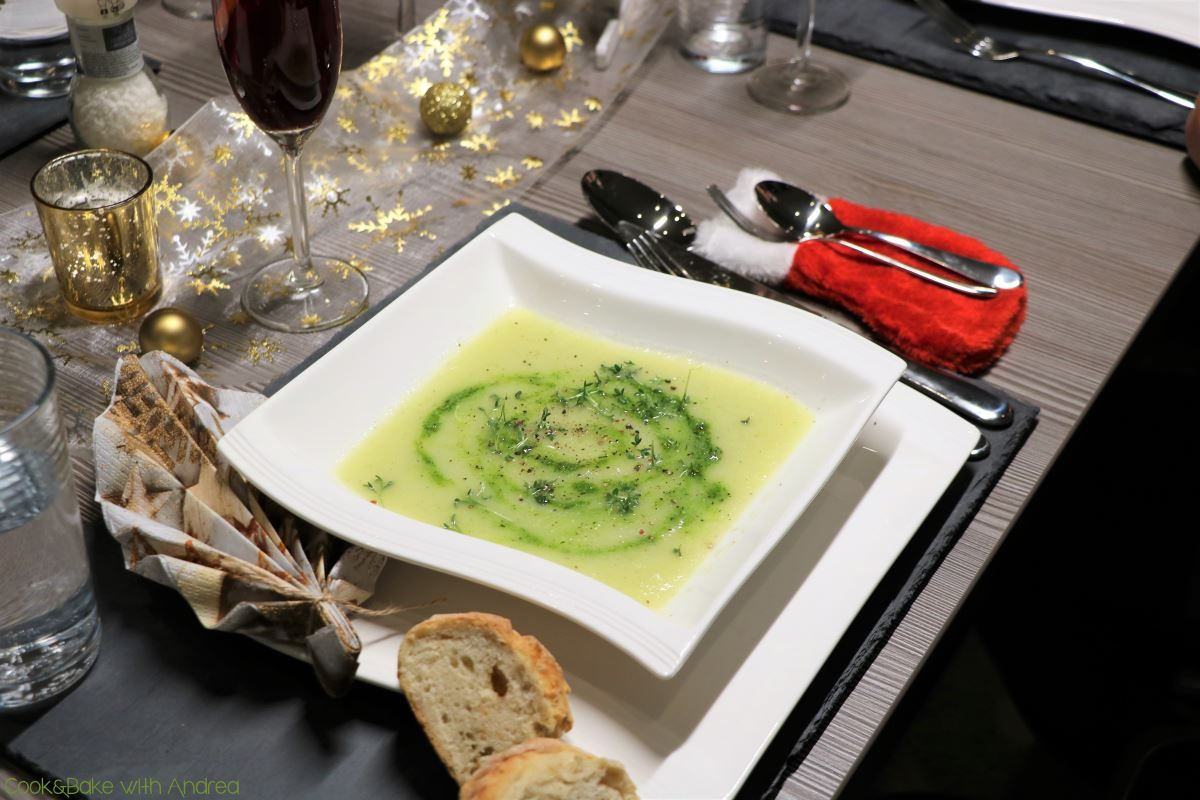 Kohlrabisuppe mit Kräuterpesto   Rezept   Suppe   Pinterest   Suppen ...