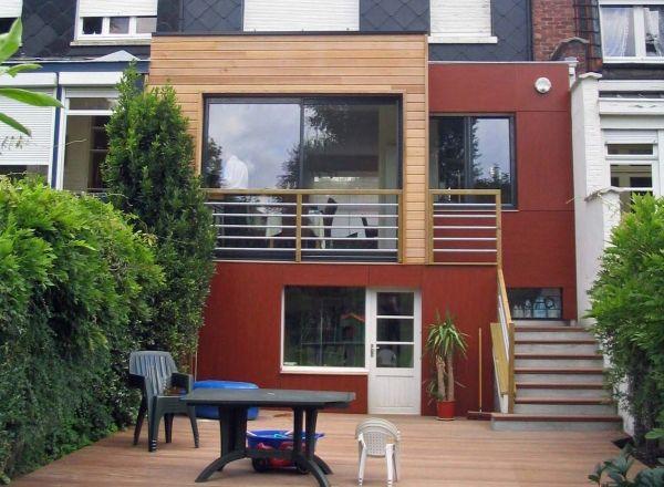 archithème Home Pinterest Extension, Extension maison et - Plan Maison Bois Sur Pilotis