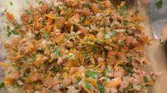 Ingredientes 2 Latas De Atún En Agua O En Aceite De Oliva Jugo De 2 Limones 1 Ceviche De Atún Consejos De Alimentación Saludable Ceviche De Atún En Lata