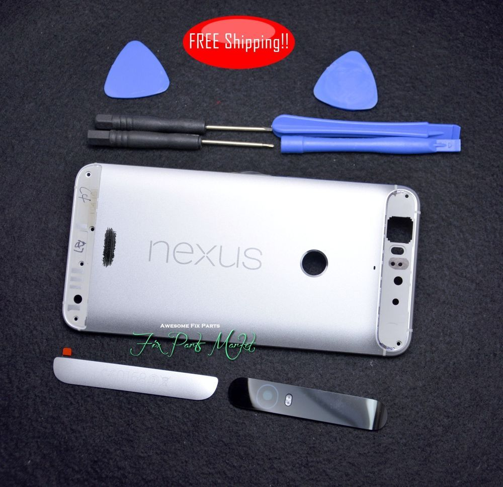 official photos 4beb3 5b4db Details about OEM Rear Panel Battery Cover Housing Case Replacement ...