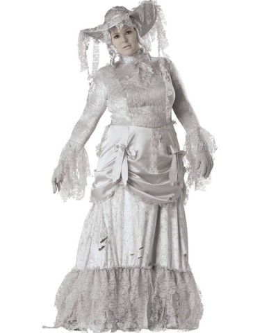 Ghostly Lady Plus Size Womens Costume | SALE