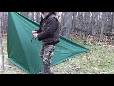 Make A Tent With Floor From A Tarp Tent Survival Shelter Tarp Shelters