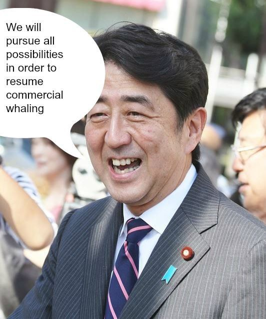 Petition  The Japanese Prime Minister says he wants to resume - community petition