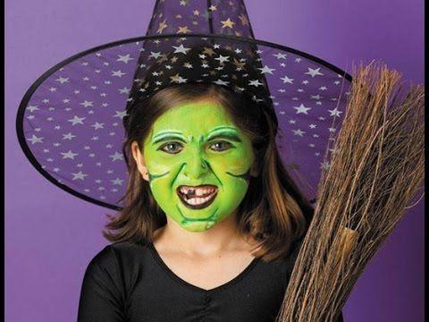 DIY Maquillaje Halloween para Niños 2015 - YouTube maquillajes - maquillaje de halloween para nios