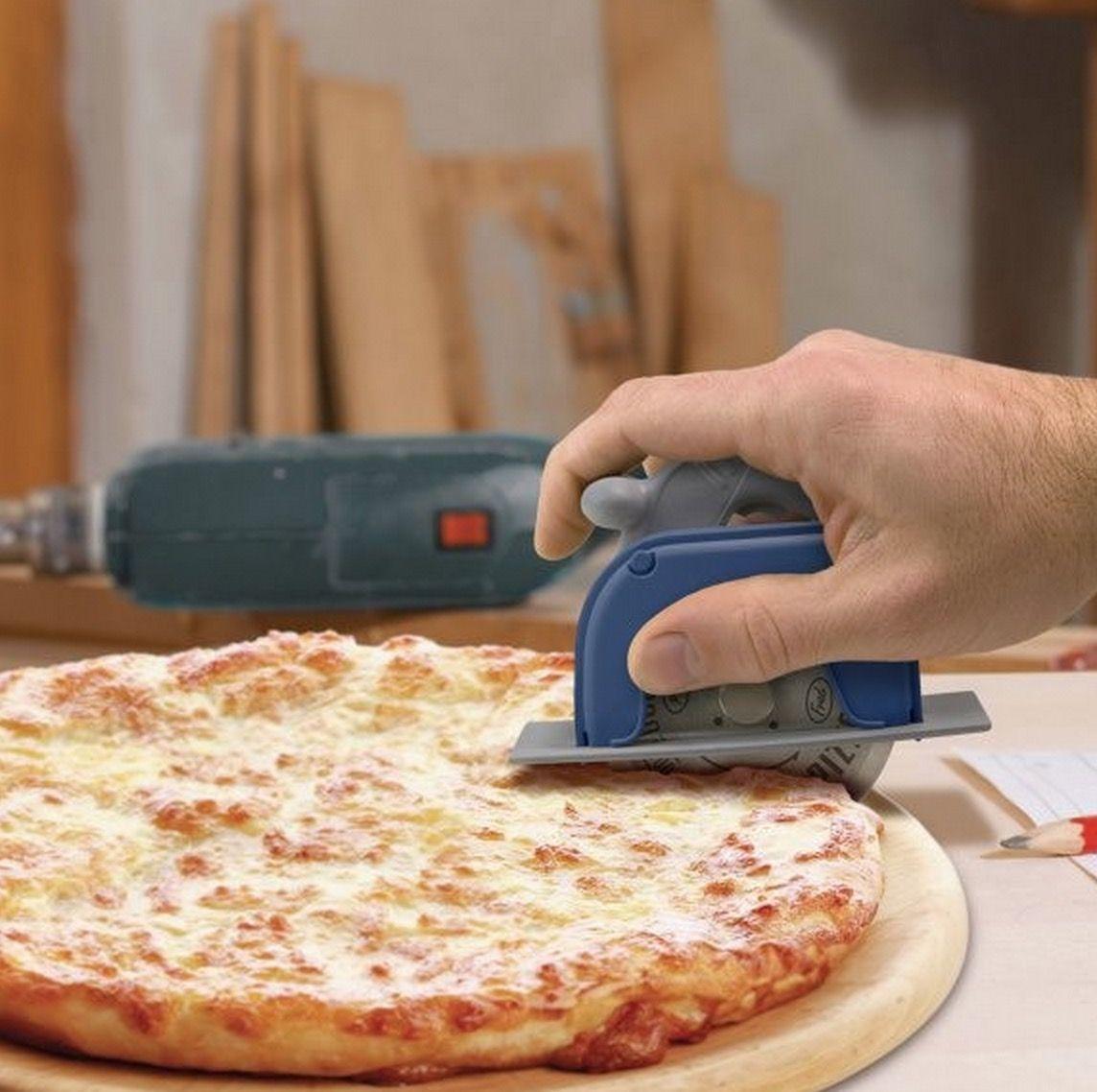 Pizzaschneider Handkreissäge | Geschenke | Pinterest | Reinigung ...