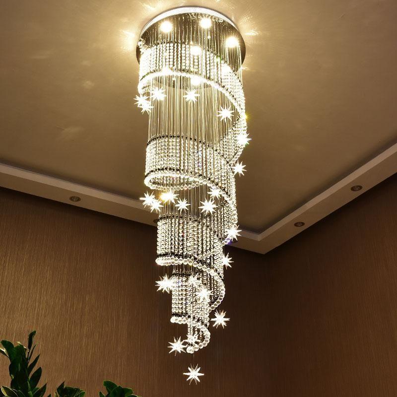 本厂专业定制设计非标工程灯具 承接国内外各大酒店售楼部样板房豪宅会所吊灯 台灯 落地灯 吸顶灯等灯具的设计与生产 Tel 17379546602 微信同号 Qq 1396 Staircase Chandelier Crystal Chandelier Lighting Crystal Ceiling Light
